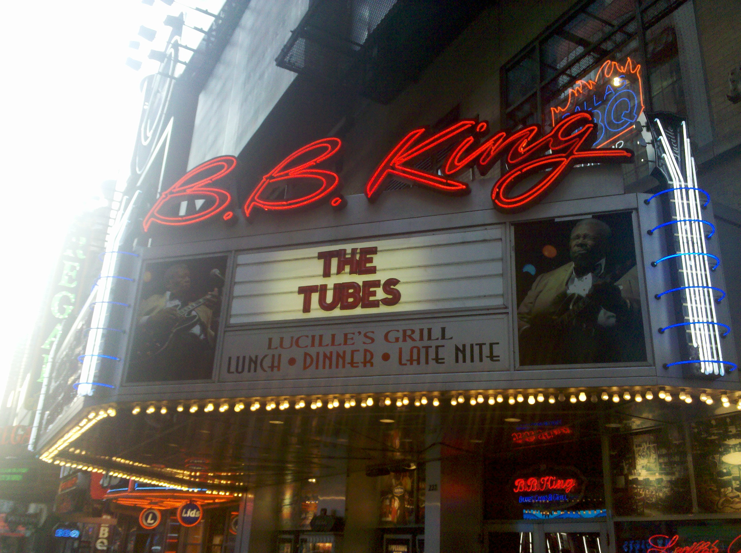 Andrew Colyer with The Tubes in New York City at B.B.King's