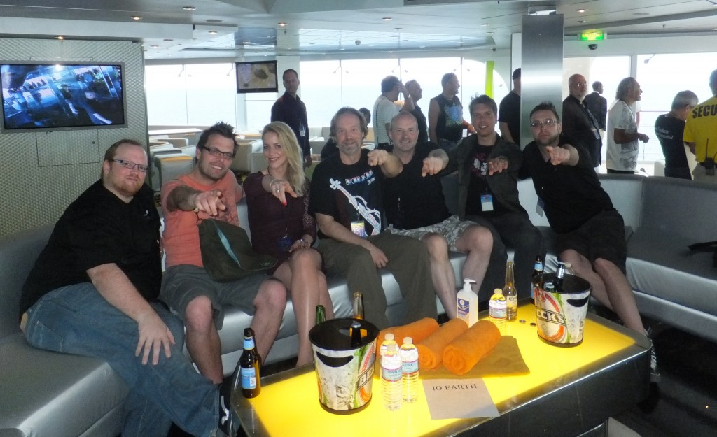 Andrew Colyer with IOEarth on the 2013 Cruise to the Edge