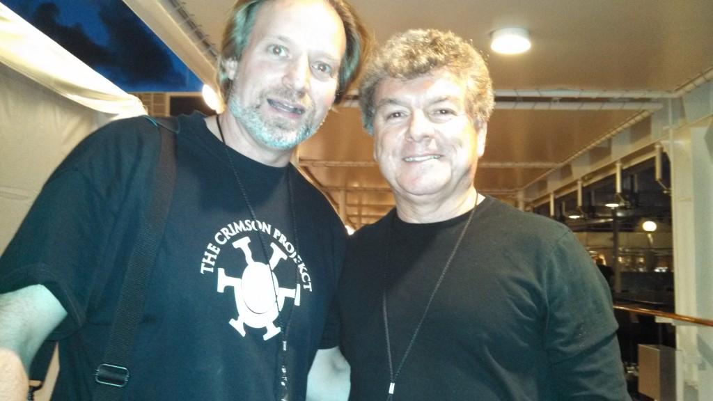 Andrew Colyer with Joe Puerta (Ambrosia)