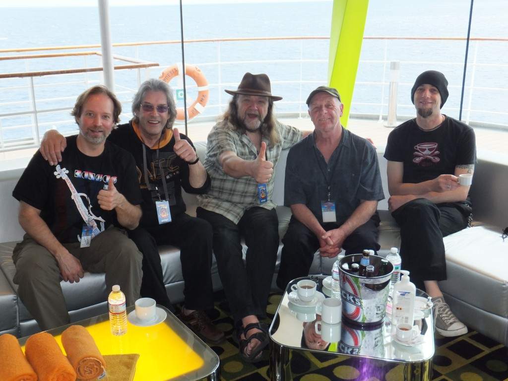 Andrew Colyer with Nektar on the 2013 Cruise to the Edge