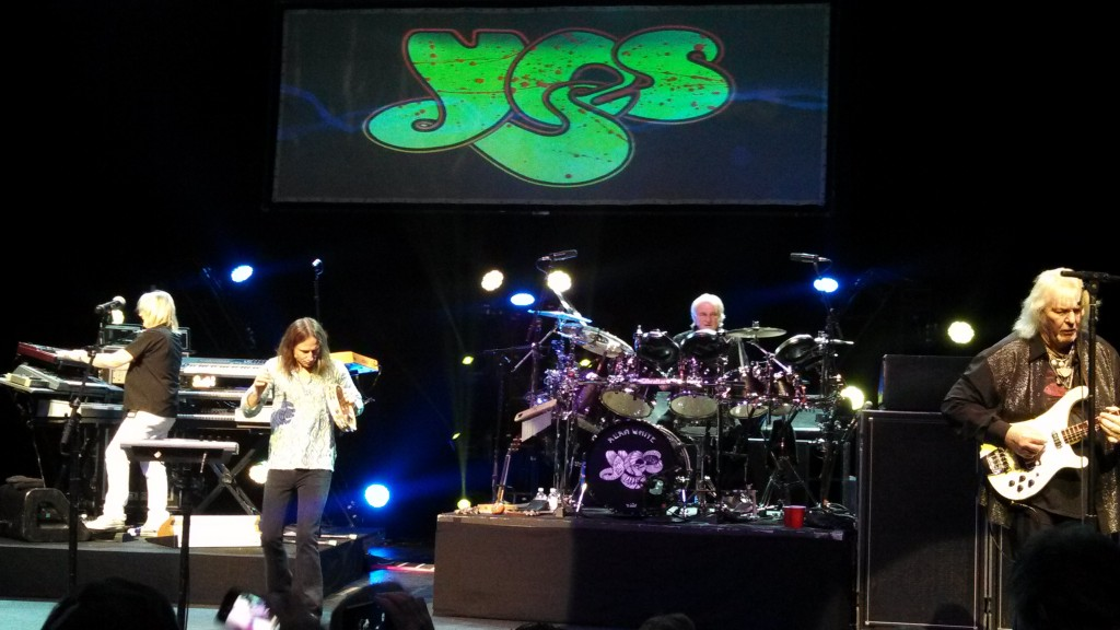 YES at the Foxwoods Theatre, Connecticut - April, 2013 - #2