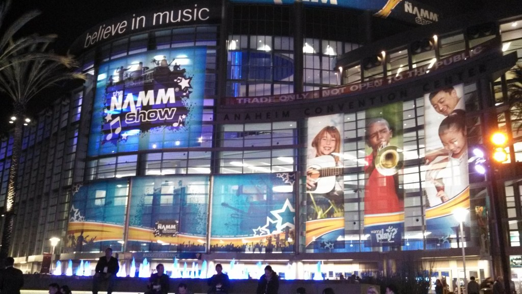 NAMM 2014 - Day One - the afterglow