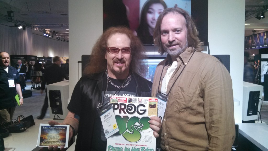 Andrew Colyer with Brook Hansen (Prog Rock Orchestra)