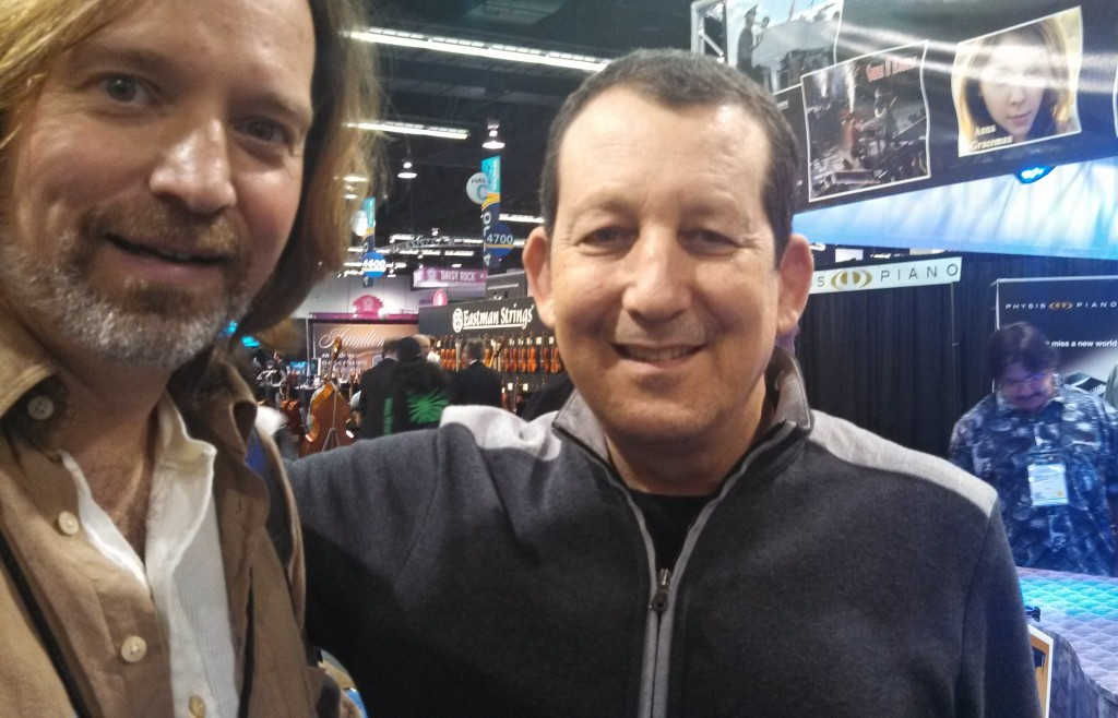 Andrew Colyer with Jeff Lorber (jazz/fusion legend)