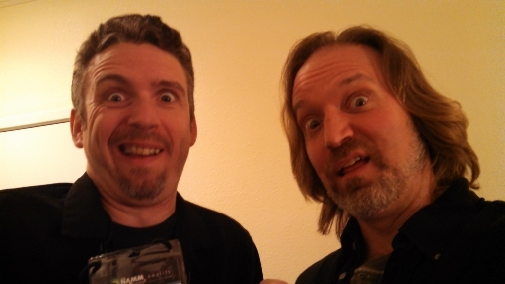 Andrew Colyer with David Lovelace (Packrat Comics,  Parallax Music)