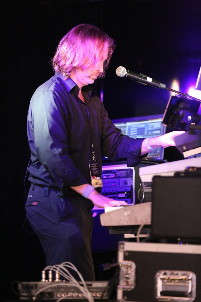 Andrew Colyer performing with the Prog Rock Orchestra on the 2014 YES Cruise to the Edge - Day Two - #2