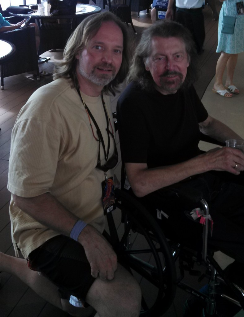 Andrew Colyer with Louis Clark (Electric Light Orchestra)
