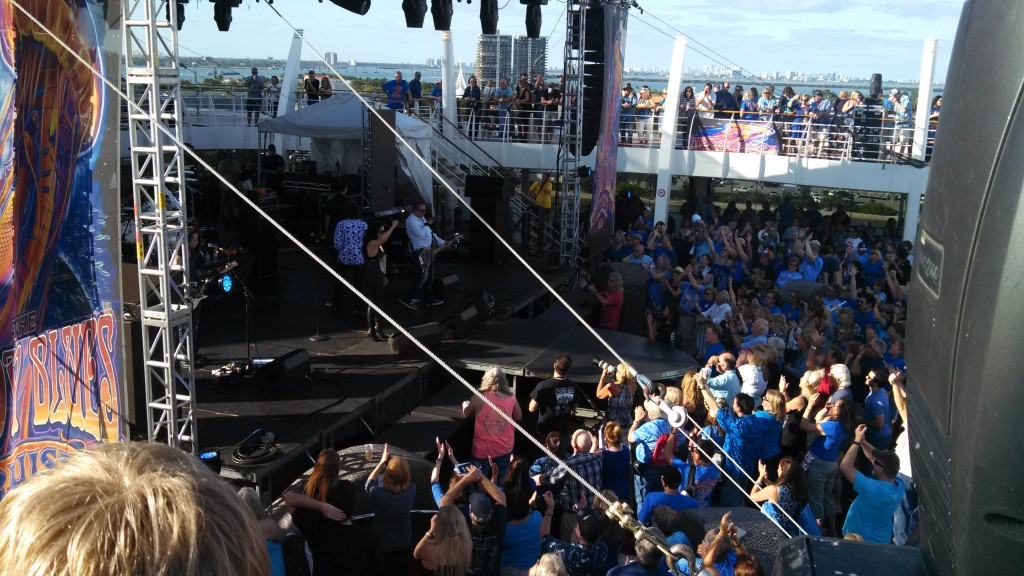 Starship opened the Moody Blues Cruise
