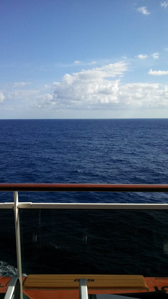 Moody Blues Cruise 2014 - the view from my balcony