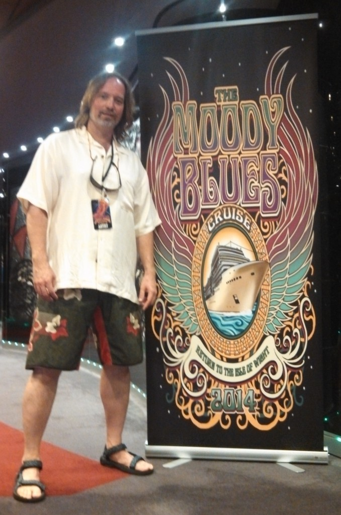 Performing Artist Andrew Colyer on the 2014 Moody Blues Cruise