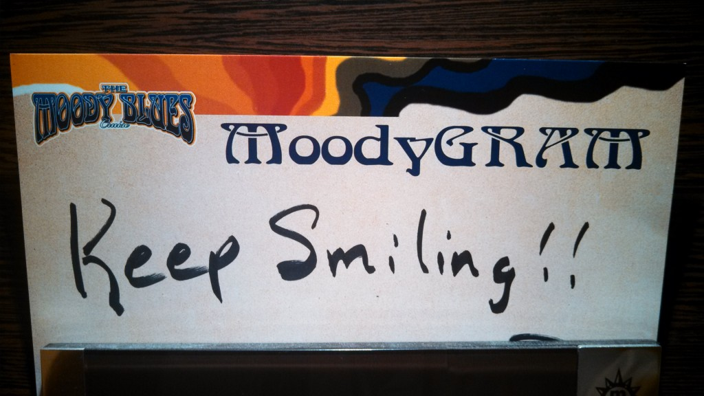 """Moody-Gram"" on the 2014 Moody Blues Cruise"