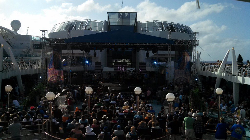 Little River Band performs on the 2014 Moody Blues Cruise