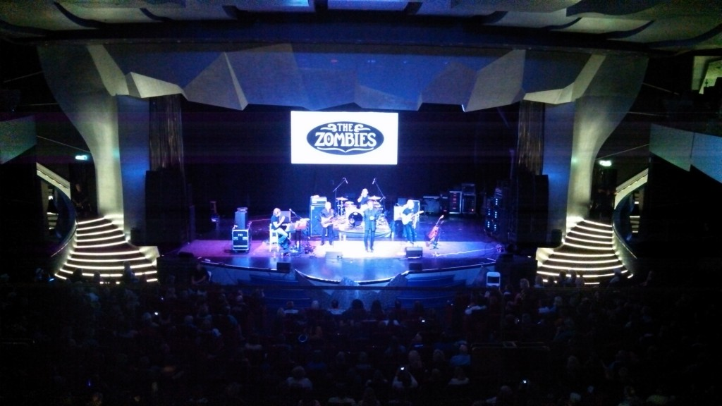 The Zombies performing on the 2014 Moody Blues Cruise - #1