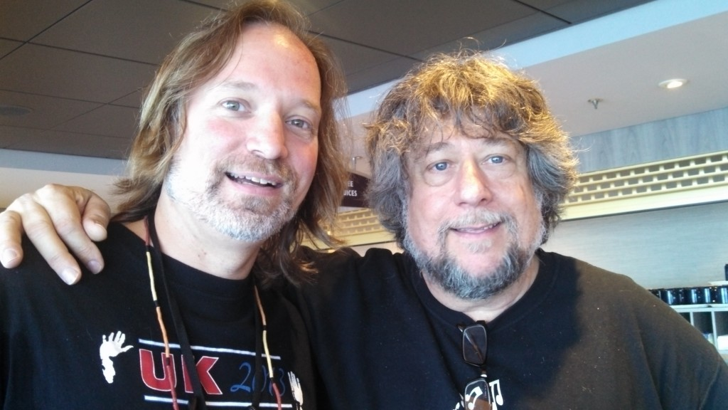 Andrew Colyer with Frank Wyatt (Happy the Man, Oblivion Sun)