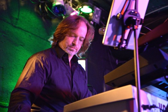 Andrew Colyer performing with the modern ProgRock band Circuline - November 2014